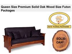 queen size futon set packages include frame mattress u0026 cover