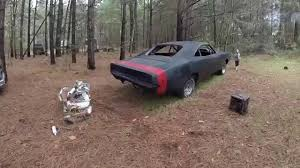 1969 dodge charger project 1969 charger 69 project black widow rear bumper update