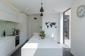 chrome kitchen island kitchen white clock white door wood white laminated wood kitchen