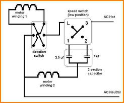 ceiling fan wiring kit 6 ceiling fan wiring diagram with capacitor switch wiring