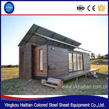 solar power container home prefab cabin for sale flatpack house
