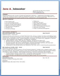 sample of resume with experience experienced nurse resume sample