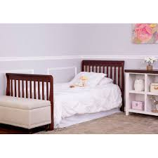 Used Mini Crib by Dream On Me Aden 4 In 1 Convertible Mini Crib Espresso Walmart Com