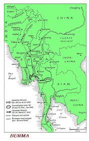 Saigon On World Map by Burma Star Association Maps Of Burma