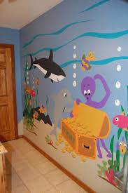 kinderzimmer wandgestaltung ideen wandgestaltung mit farbe handgemalte motive