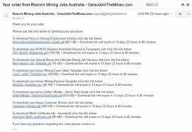Resume Mining How To Find Unskilled Mining Jobs In Western Australia