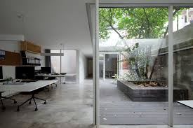 office around a tree lukstudio archdaily