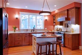 orange kitchens furniture oak cabinets and pictures of kitchens with islands also