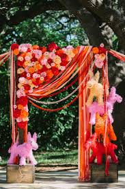 Colourful Ribbon Canopy Wedding Reception by 205 Best Colorful Wedding U0026 Party Decoration Ideas Images On