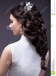 pics of bridal hairstyle portrait of a beautiful woman in a wedding dress in the image of