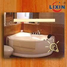 radio bathroom mirror ce ul listed bathroom illuminous dressing table mirror buy