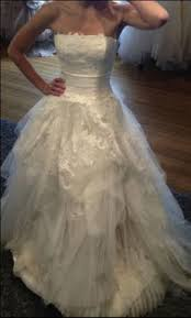 vera wang used and preowned wedding dresses nearly newly wed