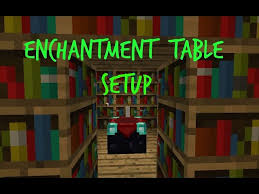 Minecraft Enchanting Table Bookshelves Enchantment Table Setup How To Minecraft Enchantment Table Set Up