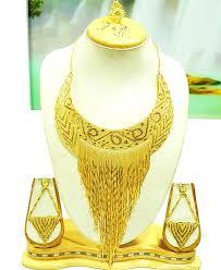 african gold necklace images Latest designer gold necklace set african boutique jpg