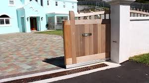 gate and fence sliding deck gate sliding main gate design for