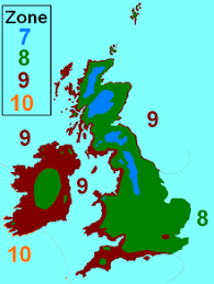 Climate Zones For Gardening - hardiness zone wikipedia