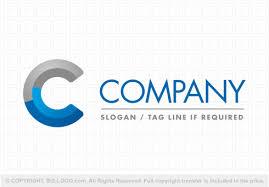 3d letter c logo 2