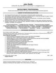 Hr Recruitment Resume Sample by Human Resources Executive Resume Airline Industry Hr Resume