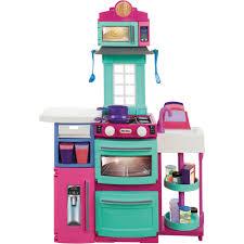 pink retro kitchen collection kitchens playfood u0026 housekeeping walmart com