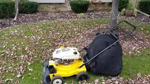 cub cadet chipper shredder vacuum youtube