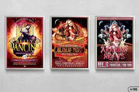 3 psd oriental night flyer templates that u0027s design store