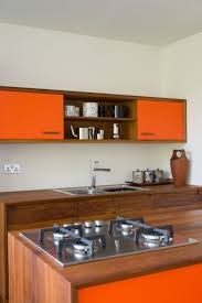 Kitchen Colors With Black Cabinets Top 25 Best Orange Cabinets Ideas On Pinterest Orange Kitchen