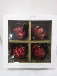Red Mercury Glass Christmas Ornaments Isaac Mizrahi Red Mercury Glass Kugel Style And 50 Similar Items