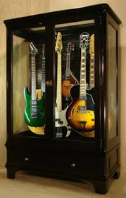 Guitar Storage Cabinet Plans Guitar Humidity Control Access N Sight Guitar Display Case