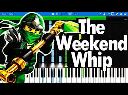 piano tutorial lego house lego ninjago theme song the fold the weekend whip synthesia