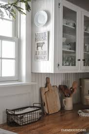 Tv In Kitchen Ideas Best 25 Bead Board Cabinets Ideas Only On Pinterest Country