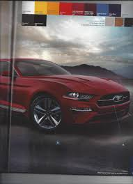 2018 ford mustang order guide leaked reveals new option packages