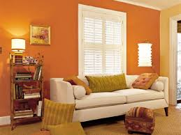 living room orange chairs for outstanding accent wall and brown furniture large size popular color paint living room decorating ideas with sandy valley colours for