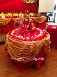 Cake Table Decorations by Red And Gold Wedding Decoration Gold Weddings Cake Table And