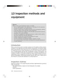 coating inspection book surface roughness relative humidity