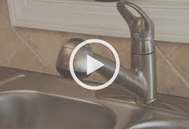 how to install kitchen sink faucet how to install a single handle kitchen faucet at the home depot