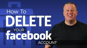how to delete your facebook account permanently youtube