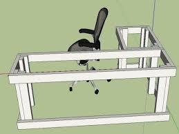 How To Build A Desk From Scratch Best 25 Desk Plans Ideas On Pinterest Build A Desk Diy Desk