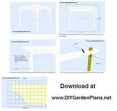 Pergola Free Plans pergola building plans how to weekend projects