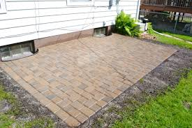 Paver Patio Paver Patio Done Markson