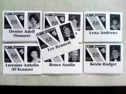 name tags for reunions 28 best class reunion souvenir ideas images on