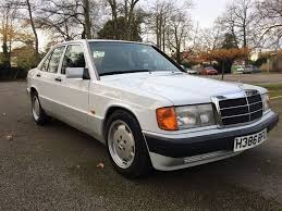 mercedes 190e 2 0 manual every mot from new 3 previous owners