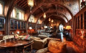 wonderful dark brown wood vintage classic design luxury home