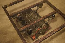 How To Make An Engine Block Coffee Table - engine block coffee table man cave pinterest engine u2026 u2013 les