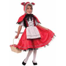 Wolf Halloween Costume Child Red Riding Hood Costume