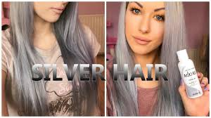 silver blonde color hair toner the best purple shampoos silver grey hair toners youtube