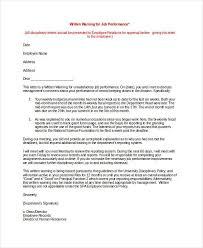 warning notice template warning notice template 7 free word pdf