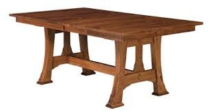 amish table and chairs cambridge trestle dining table amish furniture factory amish