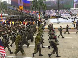 merdeka 2017 malaysia u0027s small arms arsenal on parade the