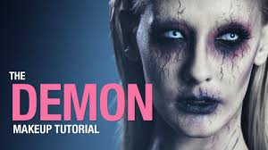 demon makeup tutorial youtube