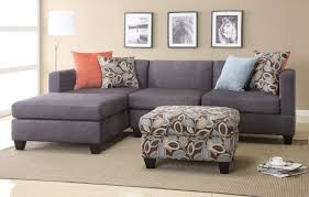 Sectional Chaise Furniture Reversible Chaise Sectional Microfiber Sectional
